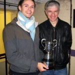 Jon Abecassis President's Cup with Phil Atkinson