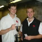 Brooks & Elfick win BUCS 2004