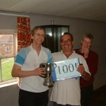 Dave Hebden's 100th title