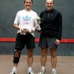 Ben Taberner 2008 London Open with Buchanan