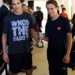 Ackland & Brubert win Schools Doubles
