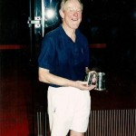 John Denison runner-up Vintage Singles