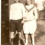 Roger Winlaw and Jock Burnet 1932