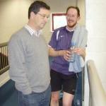 Steve Davies and Andy Pringle