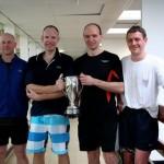 Ben Taberner with Y Club 2010 Wood Cup