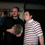 Andy Pringle and Gareth Price Winchester Plate