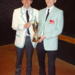 Peter & Ed with trophy 2013