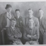 HGS Burkitt (Cambridge 1933, Oxford 1948) front right in 1931 at Durham School