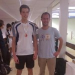 Ben Beltrami - Plate winner at the London Singles