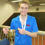 Ed Kay wins the U25s Singles title