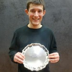 James Pinder wins the Singles Plate at the National U25s