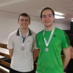 London Doubles September 2014 Runners-up Ed Kay and James Tilston