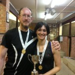 Andy Pringle & Alex Steel win Mixed Winchester Doubles 2015
