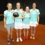 2016 Varsity Match The winning ladies