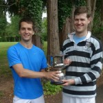 Charlie Brooks (r) wins the SW Open Doubles 2015