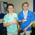Matt Shaw & Ed Kay: U25 Doubles champions 2016