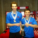 Beltrami & Shaw, BUSF Doubles champions 2016