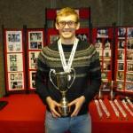 Ed Kay, BUSF Singles champion 2016