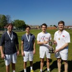 The finalists: Grant & Tristao, Ellison & Brooks