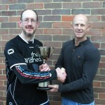 Andy & John with their trophy